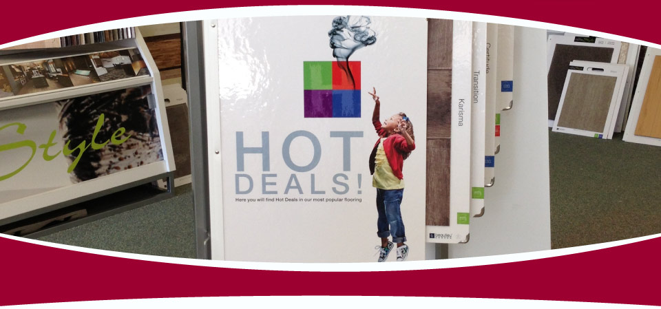 Hot Deals Sign