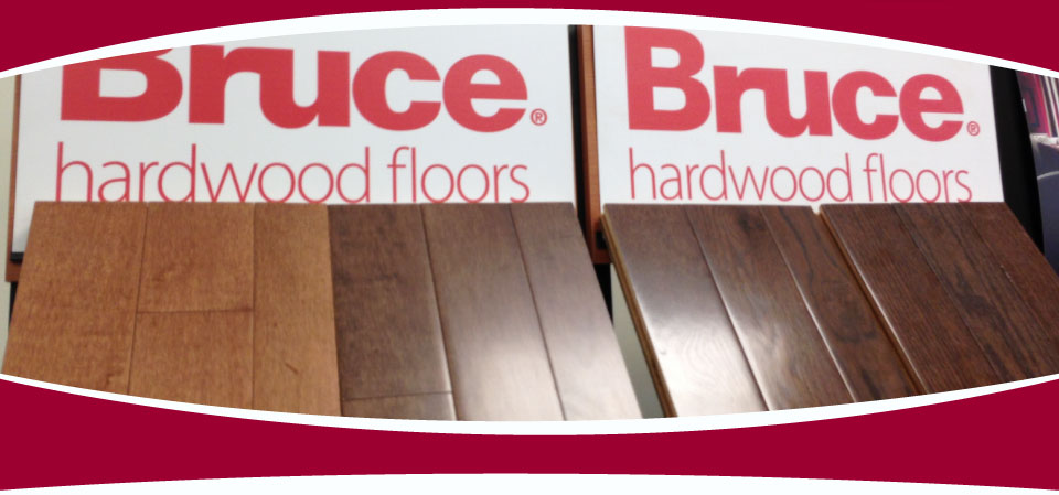 Bruce Hardwood Floor Samples